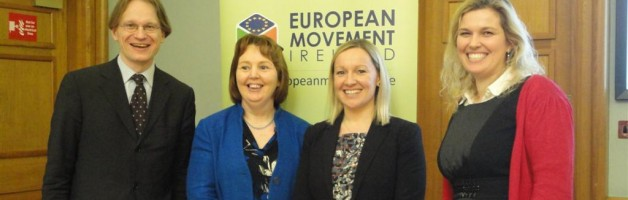 EKL prezidents A. Gobiņš uzstājas augsta līmeņa seminārā par Eiropas Pilsoņu iniciatīvu Dublinā; EKL plāno rīkot arī diskusiju Latvijā