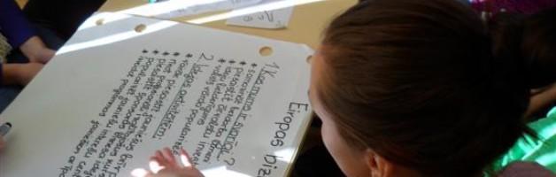 Jēkabpils skolēni gūst labāku izpratni par ES darbību, iespējām finansēt un realizēt projektus