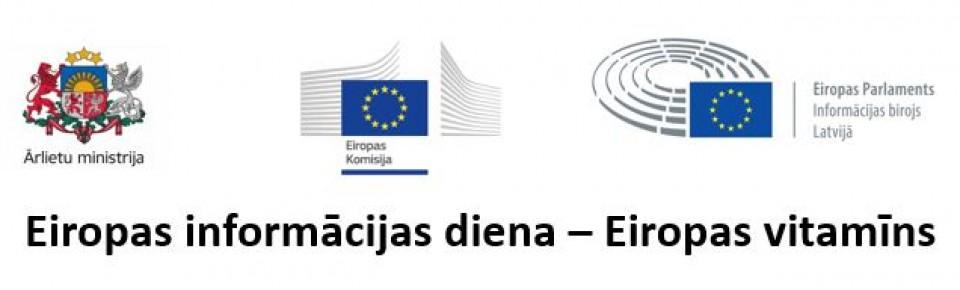 Notiks Eiropas informācijas diena